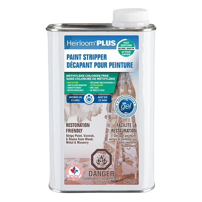 Décapant peinture Heirloom Plus, semi-gel, 946 ml
