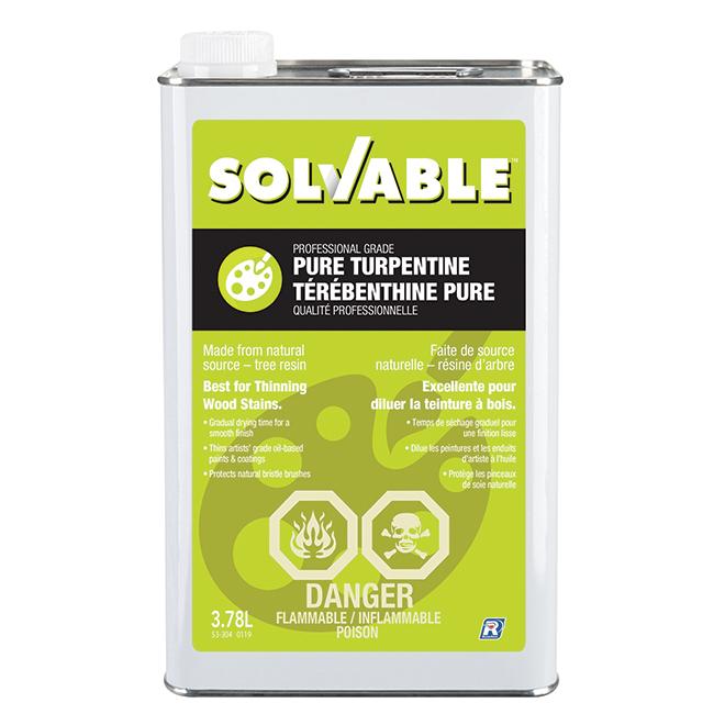 Solvable Pure Turpentine - 3.78 L