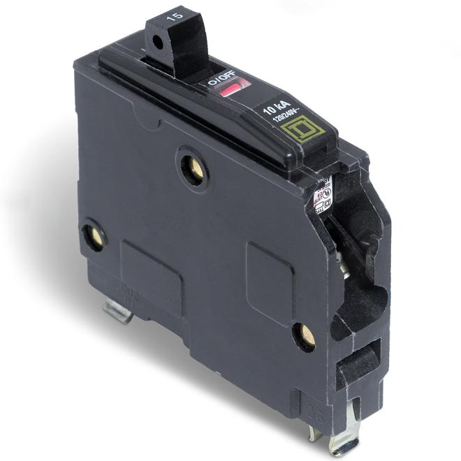 Disjoncteur (QO) 15 A 1P