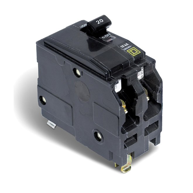 Disjoncteur (QO) 20 A 2P