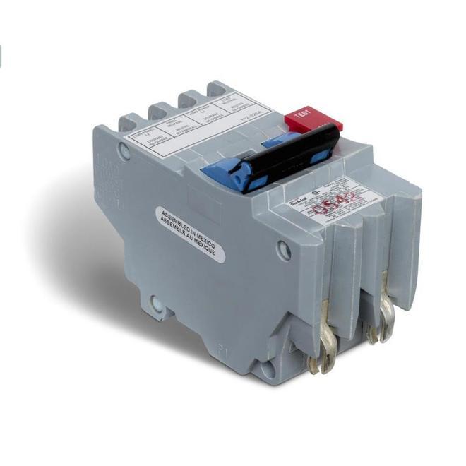 15-A 2P GFI Circuit Breaker