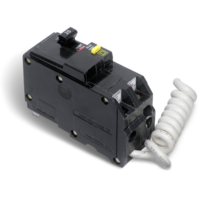 20-A 2P QO GFI Circuit Breaker