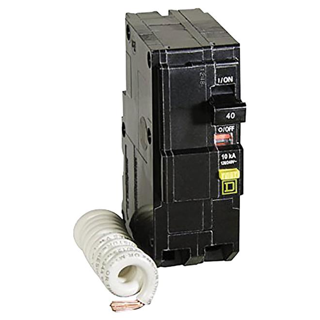 40A/2P QO GFI Circuit Breaker