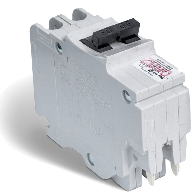 50-A 2P (NC) Circuit Breaker