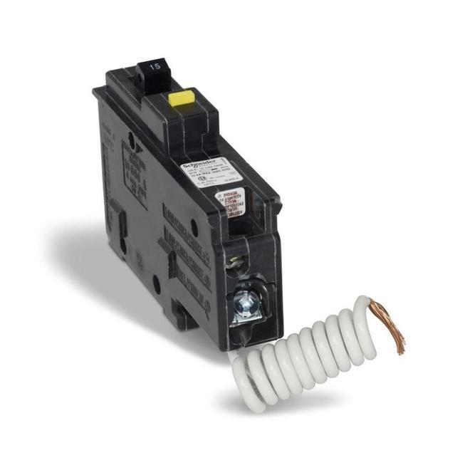 Disjoncteur unipolaire GFI 15A