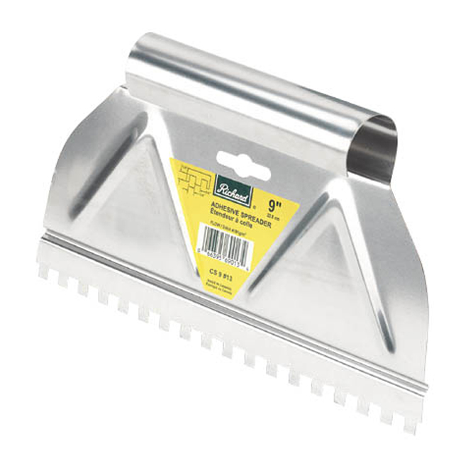 9-in Adhesive Spreader V Notch
