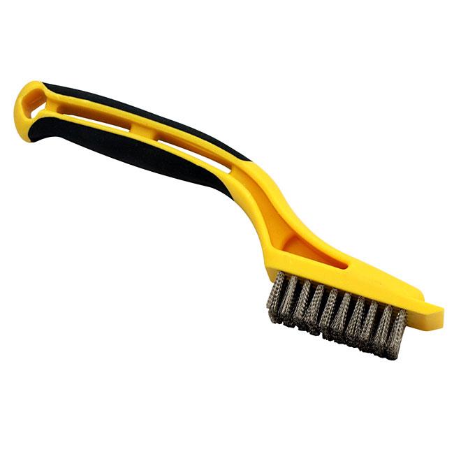 Mini-brosse en filaments d'acier inoxydable
