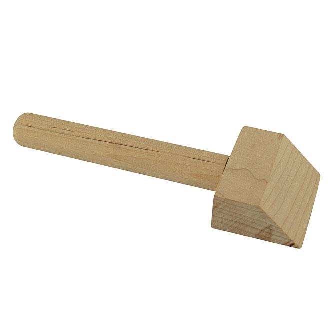 Grattoir en bois
