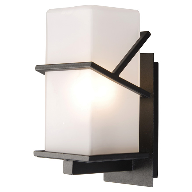 Outdoor Wall Lantern - Black