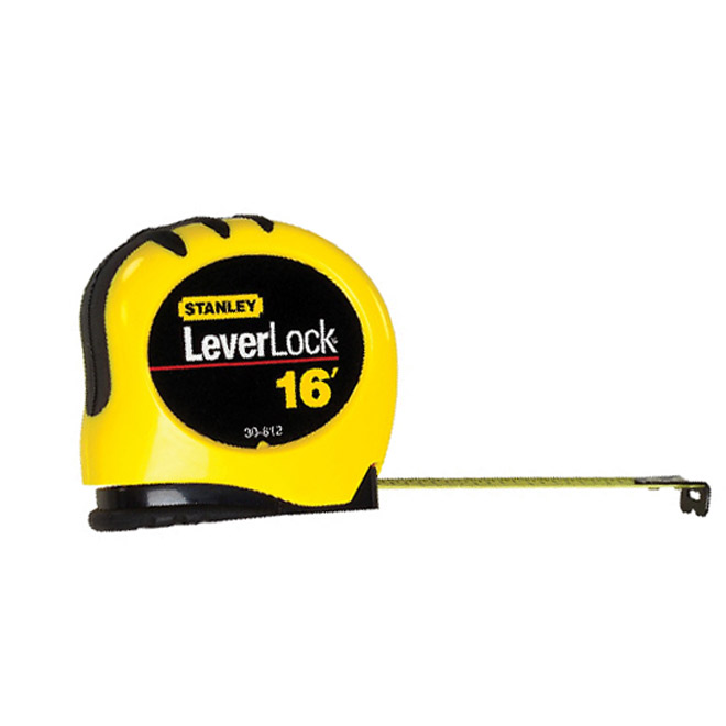 """LeverLock"" Measuring Tape"