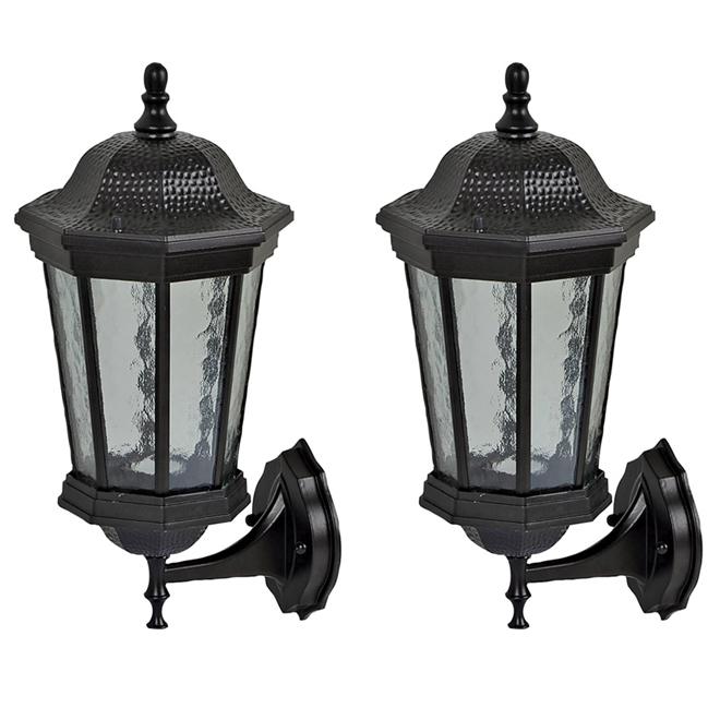 2-unit set of exterior wall lanterns