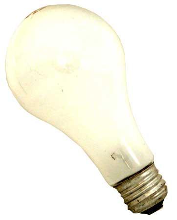 200-W Incandescent bulb