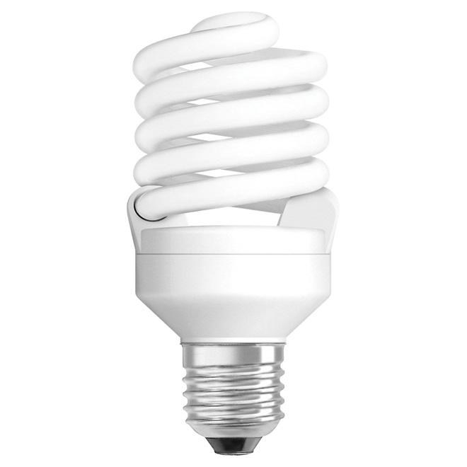 23W Compact Fluorescent T2 Mini Bulbs - Daylight - 3 Pack