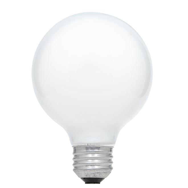Bulb globe G25 E26 - Dimmable 40 W - Soft White - PK3