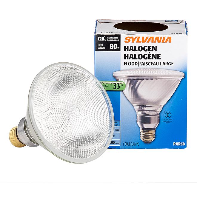 Ampoule halogène 80W/PAR38