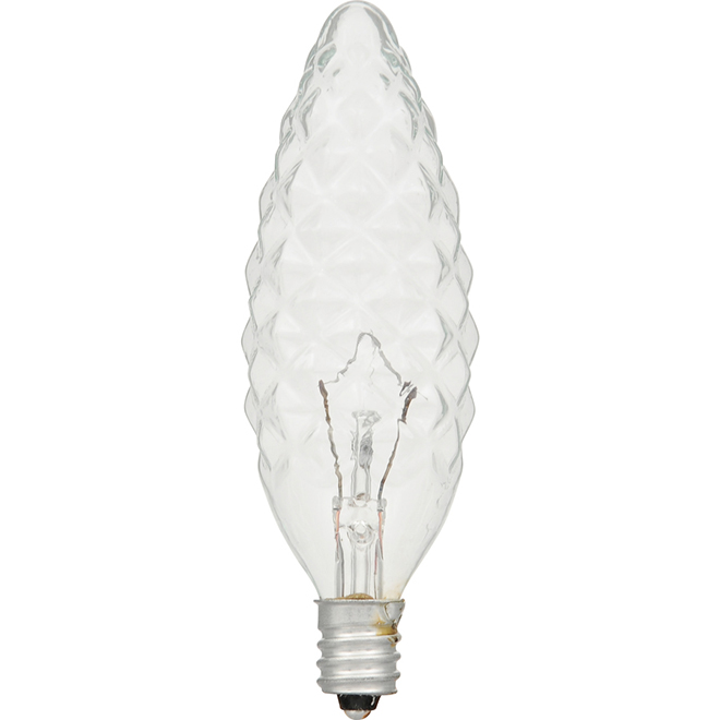 Chandelle B10 E12, intensité variable 60 W, blanc doux, 6/pqt