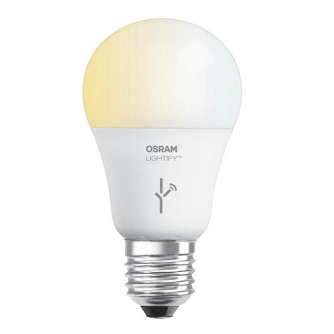 Bulb Lightify A19 E26 - Dimmable 9.5 W - Soft White