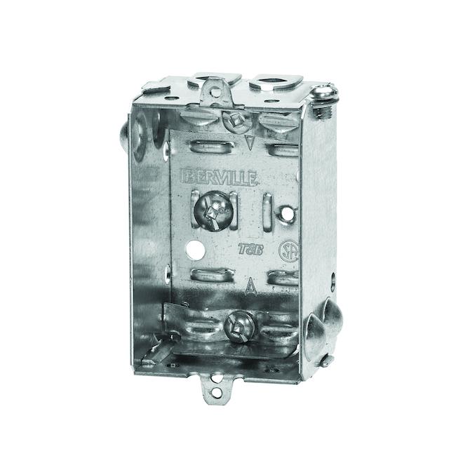 Rectangular Box with Internal Clamps
