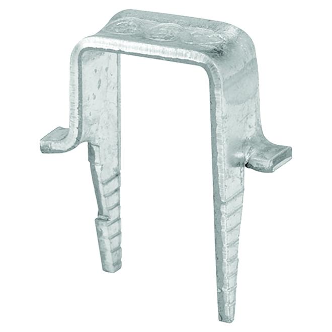 """Crampons pour câble, acier galvanisé, 1/4"""", pqt/25"""