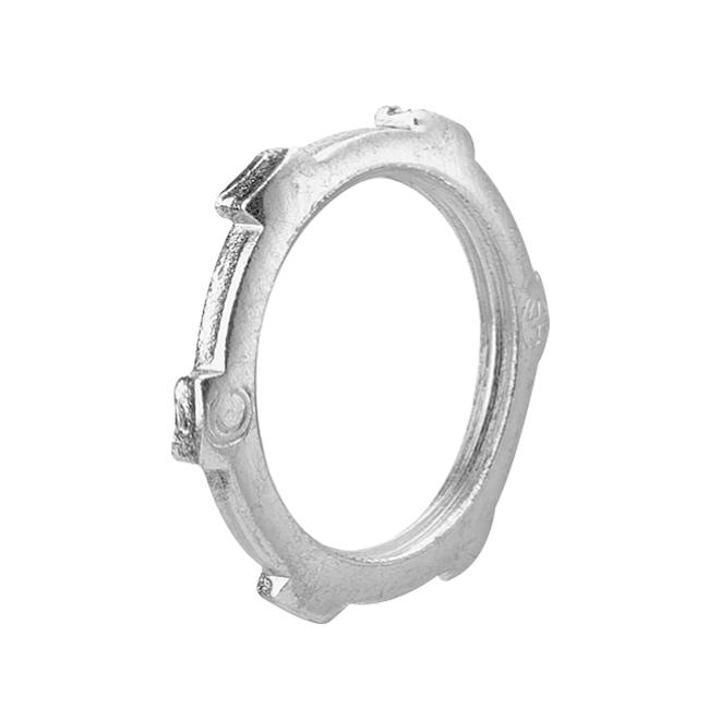 """Contre-écrou, acier, conduit rigide, 1 1/2"""", pqt/4"""