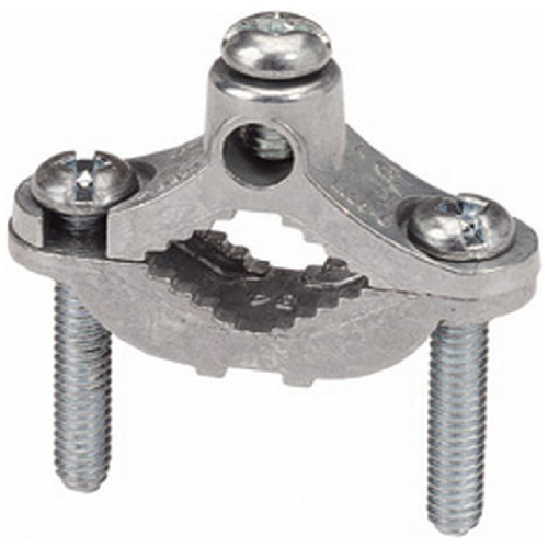 """Ground Rod Clamp - Steel - 1/2"""" to 1"""""""
