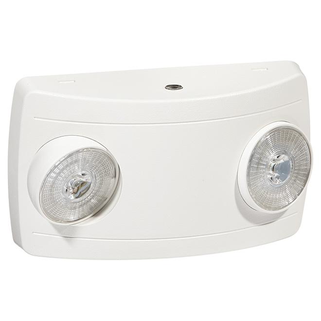Éclairage d'urgence DEL, 1 W, blanc