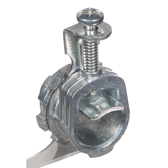 """Connecteur Iberville(MC) à 1 vis, 3/8"""", gris, 55/boîte"""