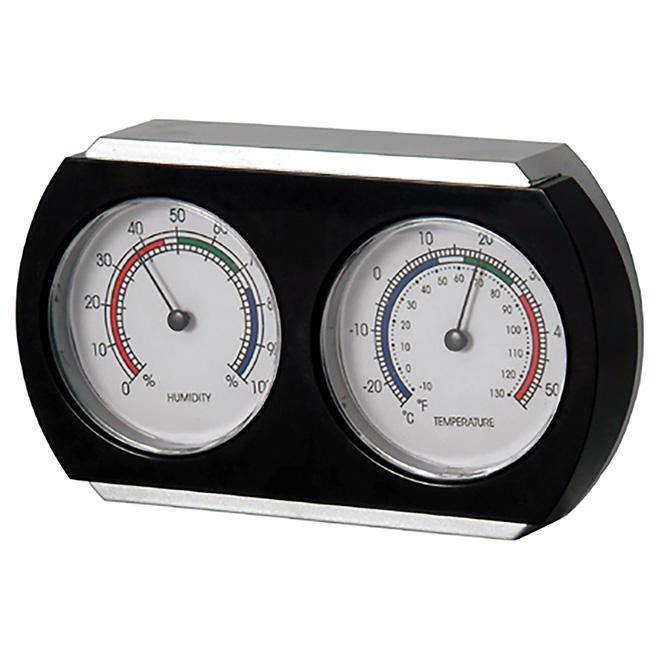 Thermomètre et hygromètre pour l'intérieur