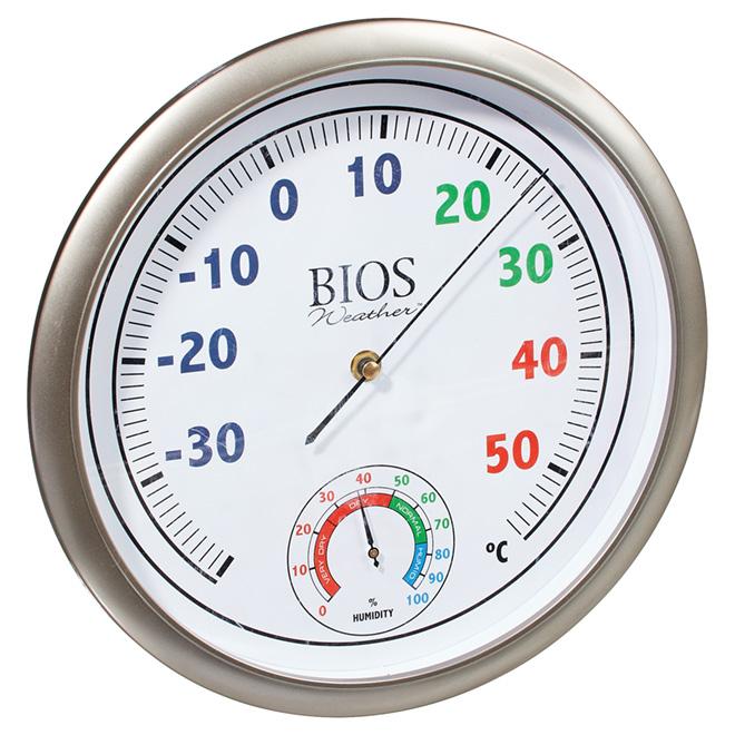"Thermometer/Hygrometer 11.75"""