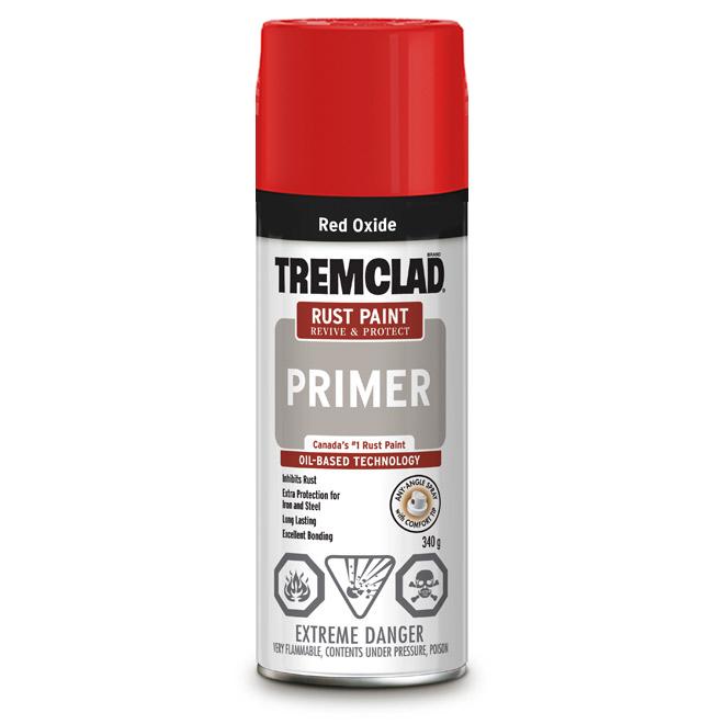 Tremclad(R) Rust Primer Spray - Aerosol - 340 g - Red Oxide