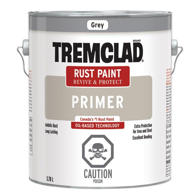 Tremclad(R) Rust Inhibitive Primer - 3.78 L - Grey