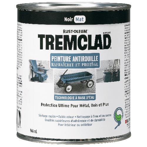 Peinture antirouille, Tremclad, 946 ml, fini mat, noir