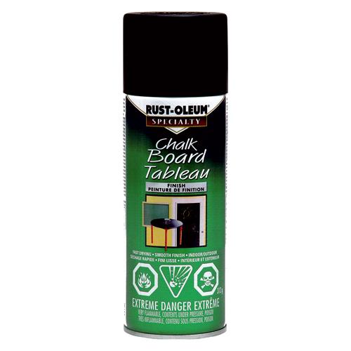 Peinture à tableau, Rust-Oleum, aérosol, 312 g, noir