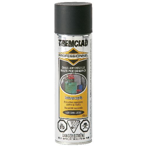 Émail antirouille haute performance Tremclad, 426 g, fini semi-lustré, noir