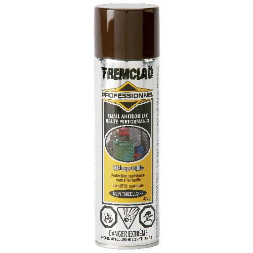 Émail antirouille haute performance Tremclad, 426 g, fini lustré, brun foncé