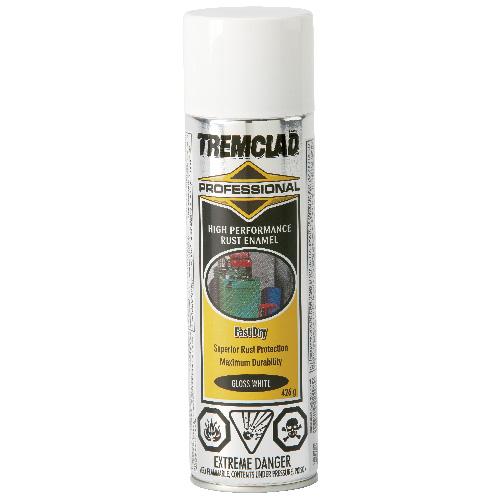 Tremclad High Performance Rust Enamel - 426 g - Gloss Finish - White