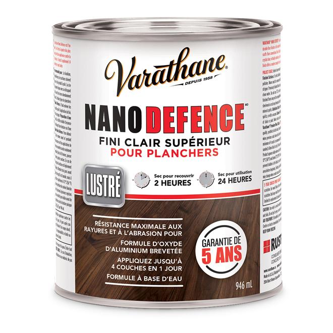 Fini pour plancher NanoDefence(MD), clair, lustré