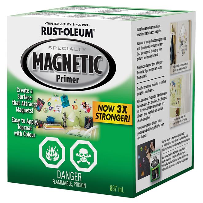 Magnetic Primer - Alkyd - 887 ml - Light Grey