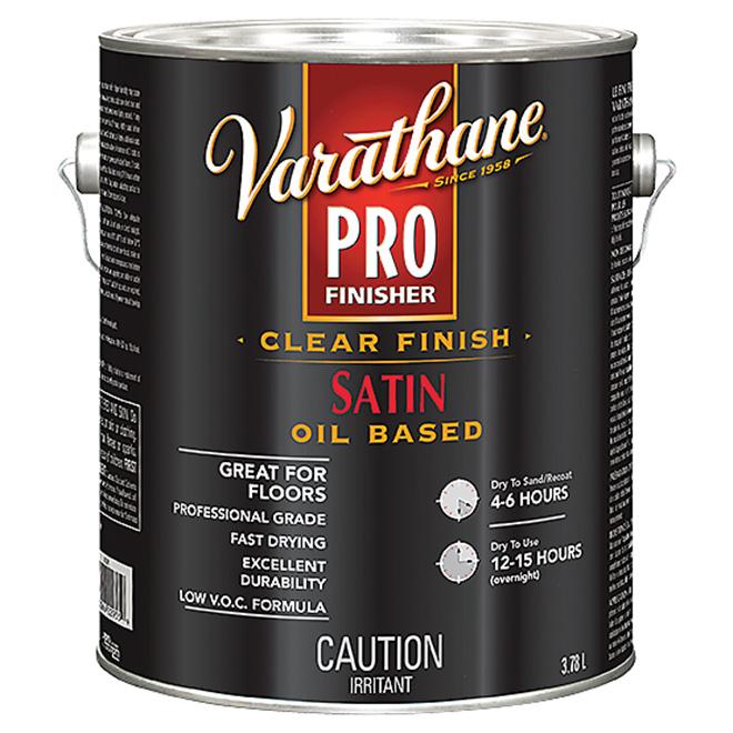Varathane Pro - Floor Paint - 3.78 L - Satin - Clear