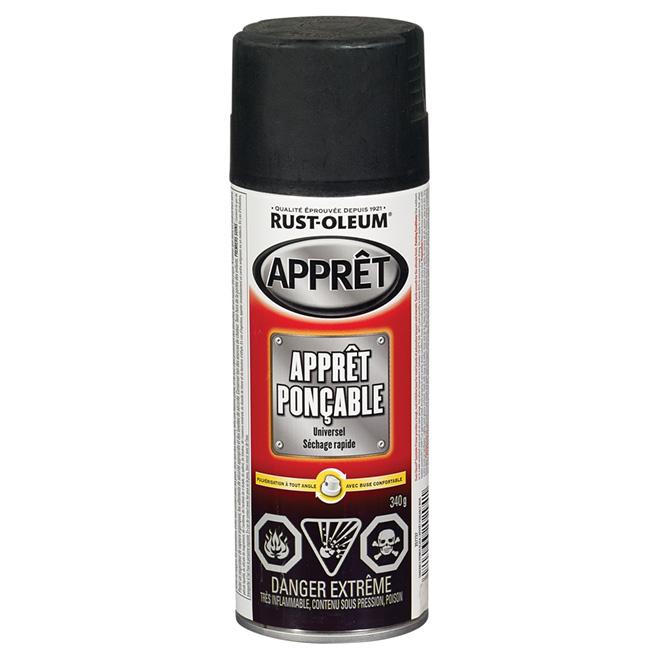 Apprêt noir ponçable, 340 g