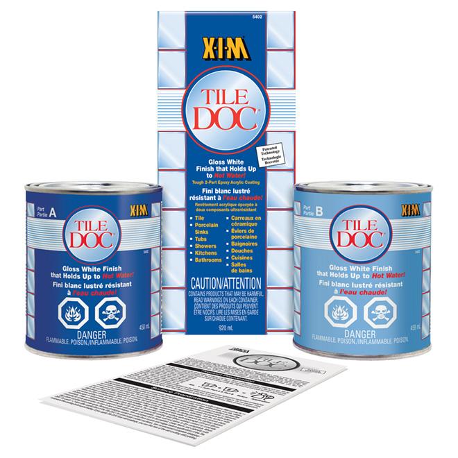 XIM Tile Doc(TM) Epoxy Tile Refinishing Kit