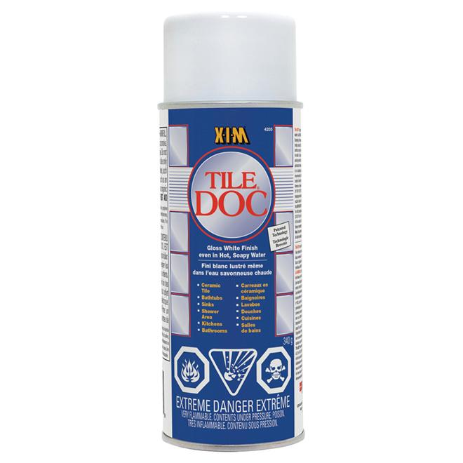 XIM Tile Doc(TM) Epoxy Spray Coating - White