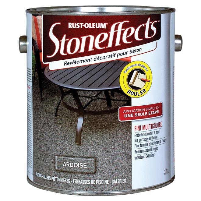 Stoneffects Revêtement Décoratif Pour Béton Ardoise 270835 Réno