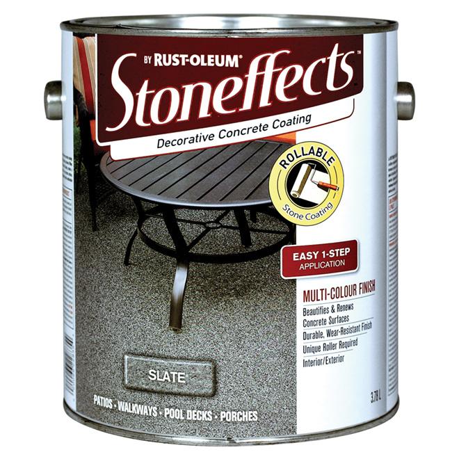 Decorative Concrete Coating - Slate