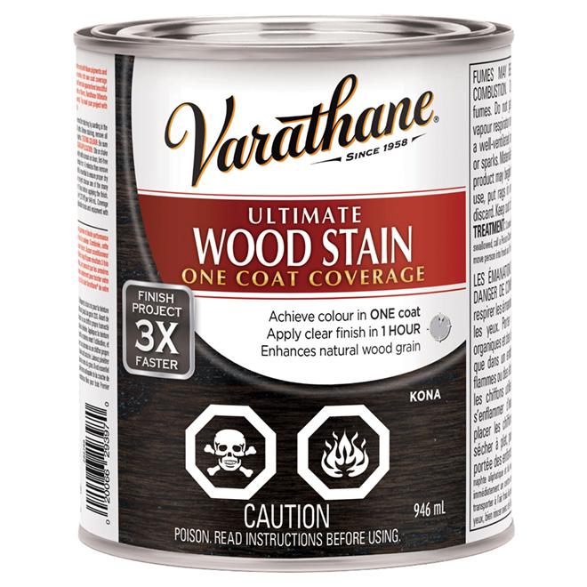 """Ultimate"" One-Coat Wood Stain - Kona"