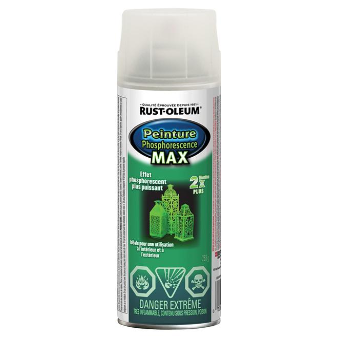 Peinture phosphorescente MAX en aérosol, 286 g
