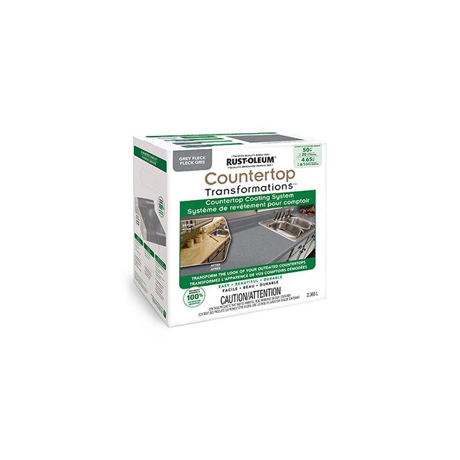 Rust-Oleum - Countertop Coating System - 2.36 L - Grey Fleck
