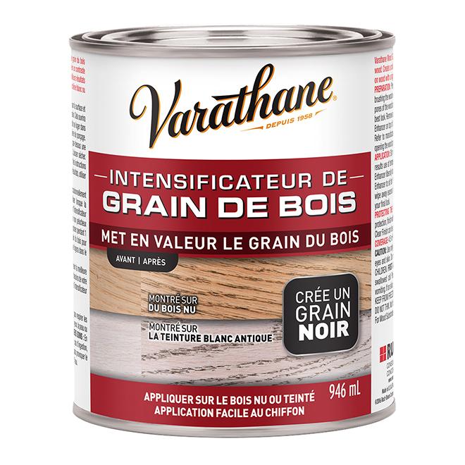 Intensificateur de grain de bois Varathane, 946 ml, grain noir