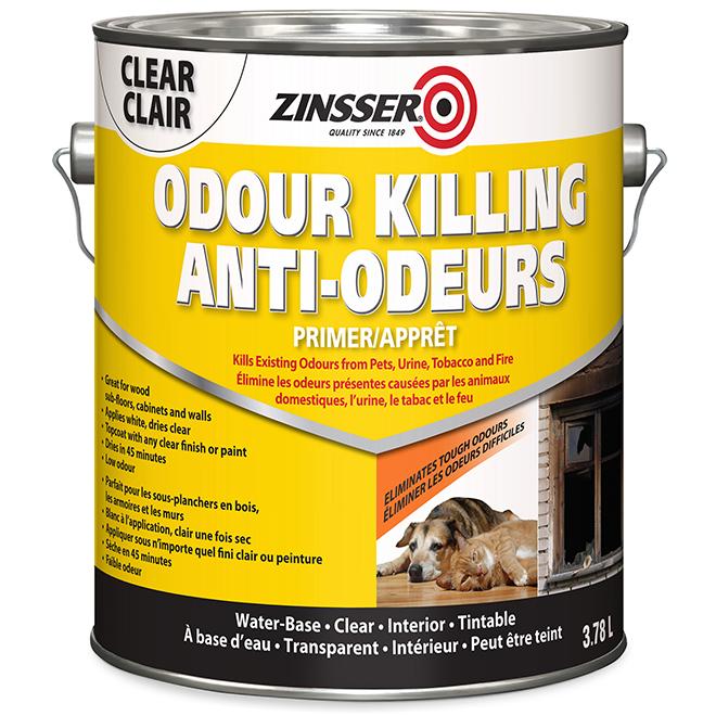 Zinsser Odour Killing Primer - Water Based 3.78 L Clear