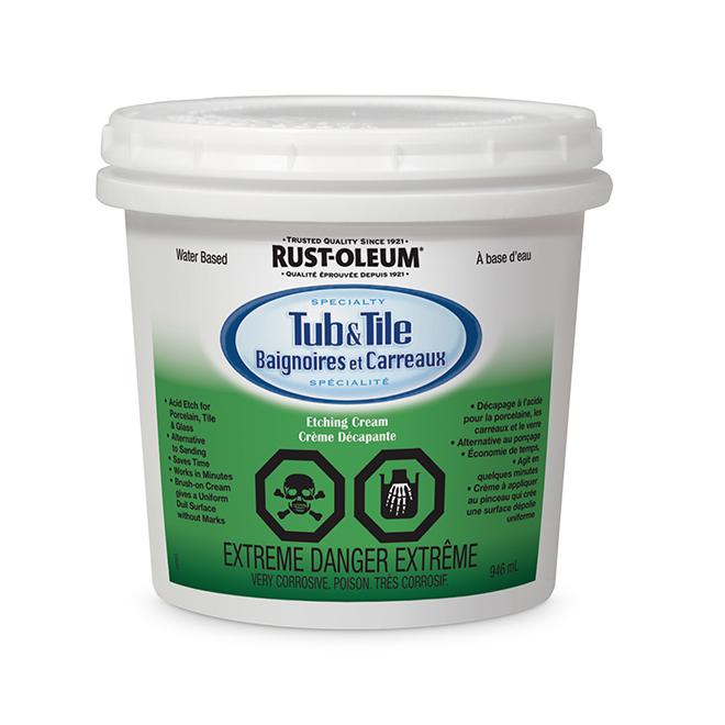 Crème décapante bain et carreau Rust-Oleum, 946 ml